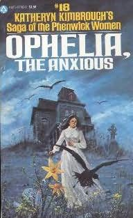 book cover of Ophelia, the Anxious