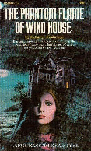 book cover of The Phantom Flame of Wind House