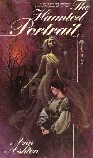 book cover of The Haunted Portrait