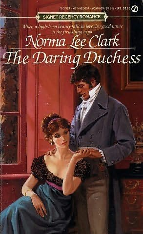 book cover of The Daring Duchess