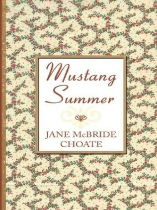 book cover of Mustang Summer