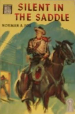 book cover of Silent in the Saddle