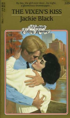 book cover of The Vixen\'s Kiss