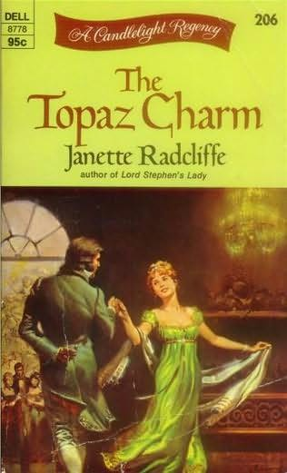 book cover of The Topaz Charm