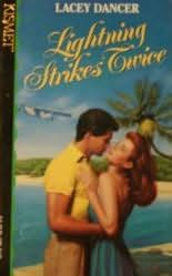 book cover of Lightning Strikes Twice