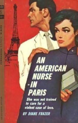 book cover of An American Nurse in Paris