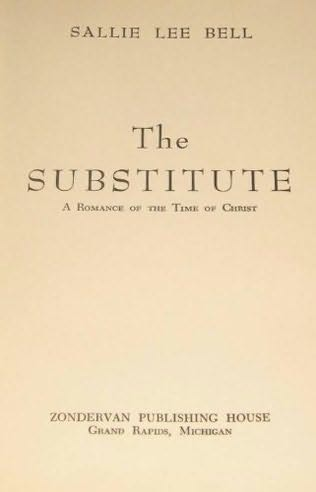 book cover of The Substitute