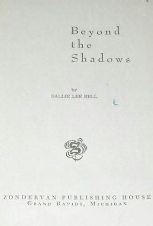 book cover of Beyond the Shadows