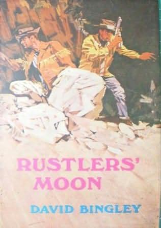 book cover of Rustler\'s Moon