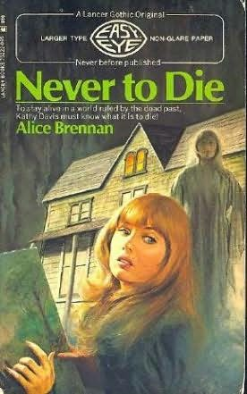 book cover of Never to Die