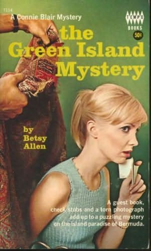 book cover of The Green Island Mystery