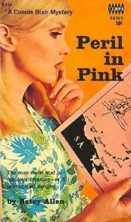 book cover of Peril in Pink