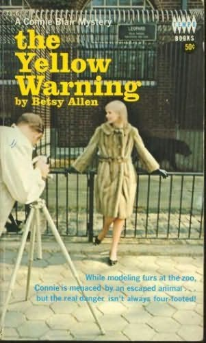 book cover of The Yellow Warning