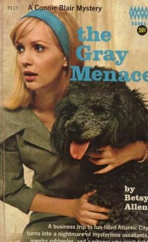 book cover of The Gray Menace
