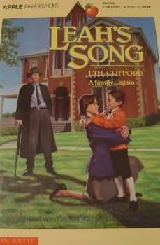 book cover of Leah\'s Song