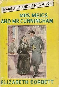 book cover of Mrs. Meigs and Mr. Cunningham