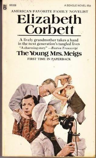 book cover of The Young Mrs. Meigs