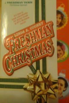 book cover of Freshman Christmas