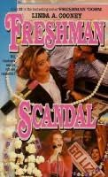 book cover of Freshman Scandal