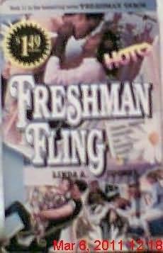 book cover of Freshman Fling