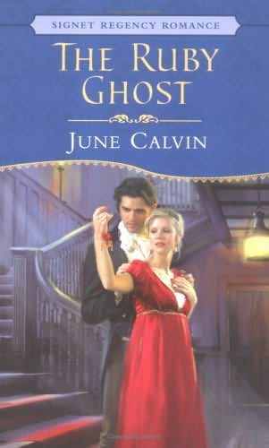 book cover of The Ruby Ghost