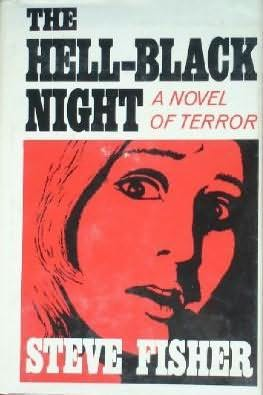 book cover of The Hell-Black Night