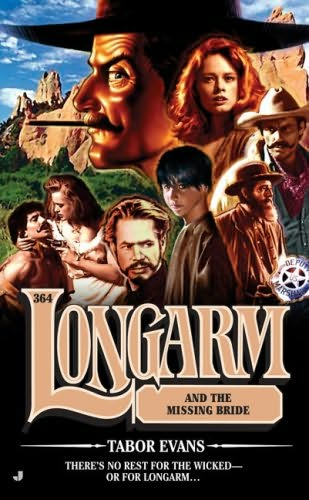 book cover of Longarm and the Missing Bride