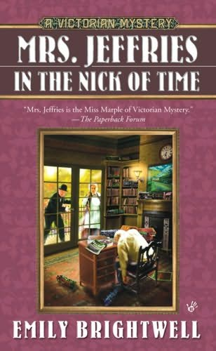 book cover of Mrs Jeffries in the Nick of Time