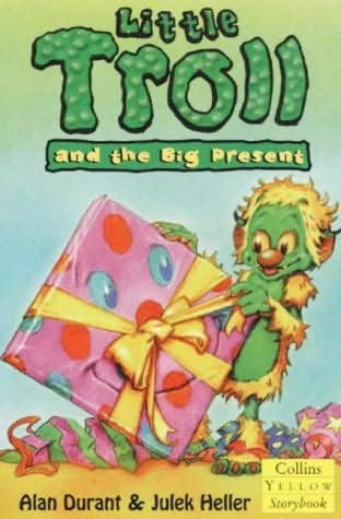 book cover of Little Troll and the Big Present