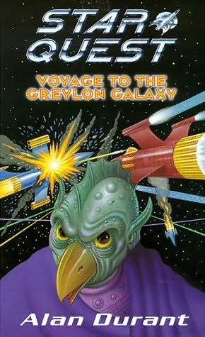 book cover of Voyage to the Greylon Galaxy