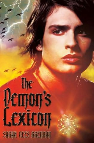 book cover of The Demon\'s Lexicon