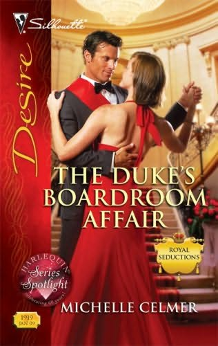 book cover of The Duke\'s Boardroom Affair
