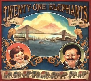 book cover of Twenty-One Elephants