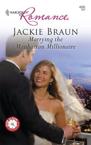 book cover of Marrying the Manhattan Millionaire