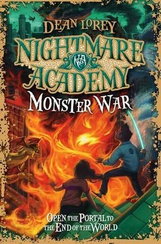 Monster War Nightmare Academy Book 3 By Dean Lorey
