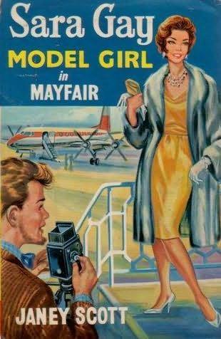 book cover of Model Girl in Mayfair