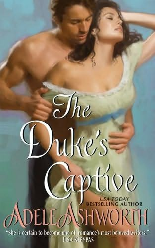 book cover of The Duke\'s Captive