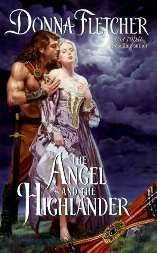 book cover of The Angel and the Highlander