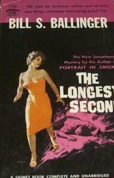 book cover of The Longest Second