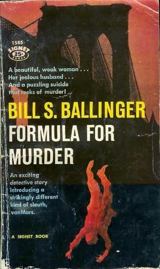 book cover of Formula for Murder