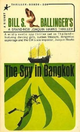 book cover of The Spy in Bankok
