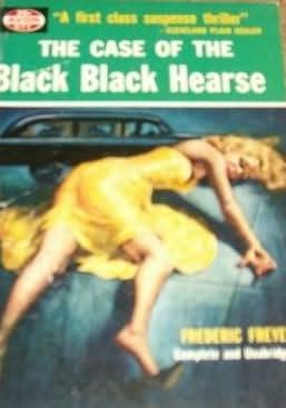 book cover of The Case of the Black, Black Hearse