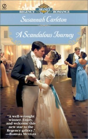 book cover of A Scandalous Journey