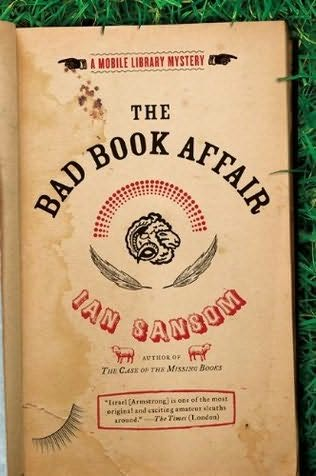 book cover of The Bad Book Affair