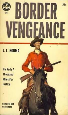 book cover of Border Vengeance