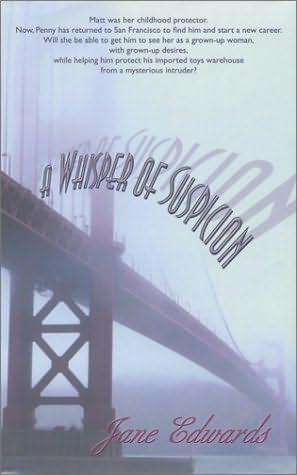 book cover of A Whisper of Suspicion