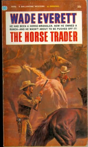 book cover of The Horse Trader