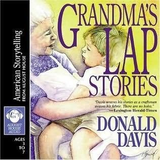 book cover of Grandma\'s Lap Stories