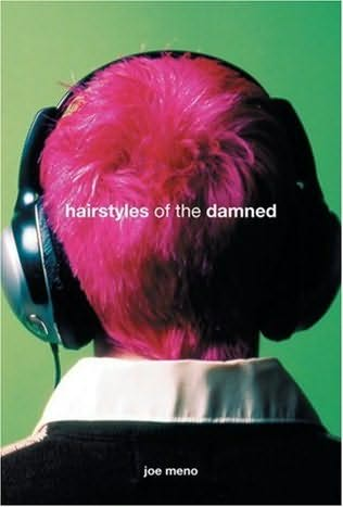 book cover of Hairstyles of the Damned by Joe Meno
