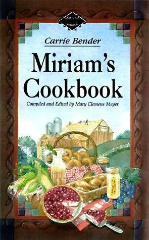 book cover of Miriam\'s Cookbook
